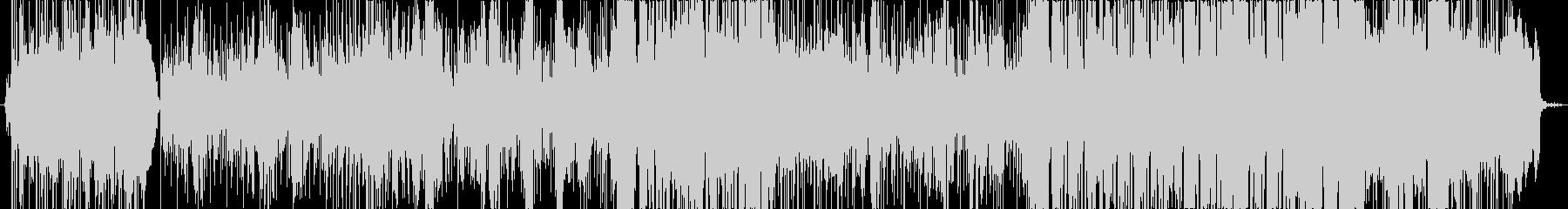 ポップロック調のメッセージソングの未再生の波形