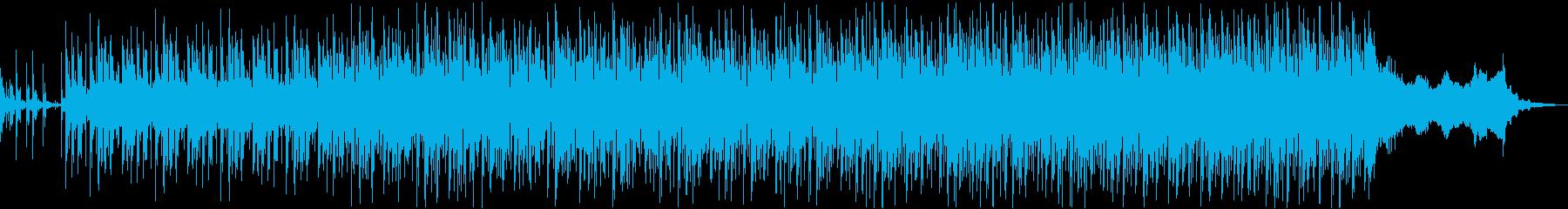 駆け抜ける威rhythmするような...の再生済みの波形