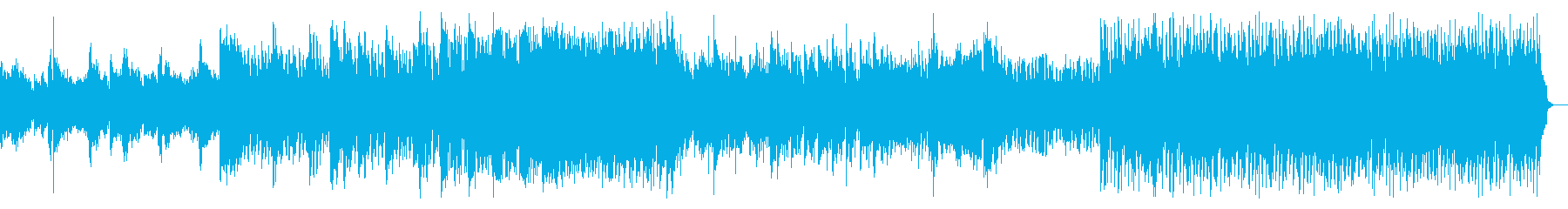 ミディアムダークなアンビエントメタルの再生済みの波形