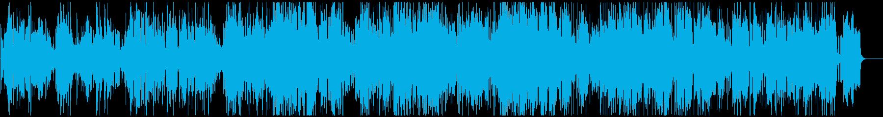 オルガンとテナーサックスの素敵なジャズの再生済みの波形