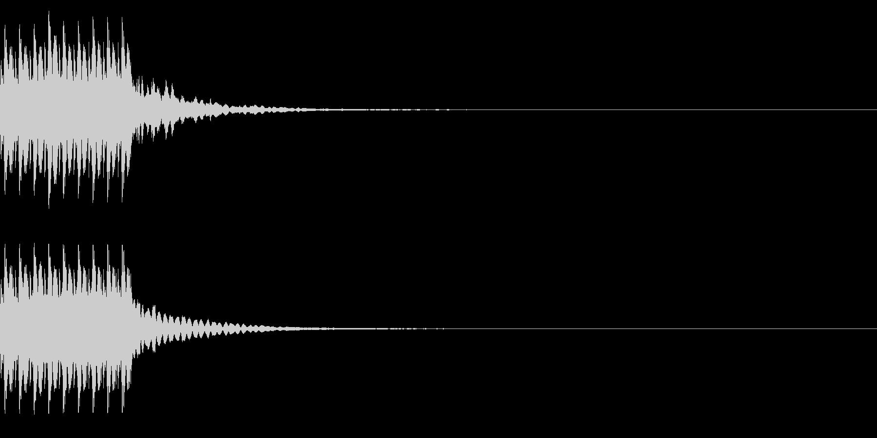 コイン9枚獲得 ゲット チャリンの未再生の波形