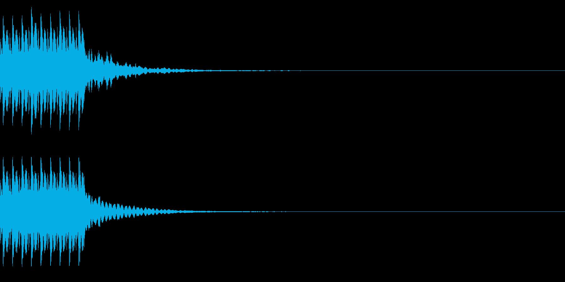 コイン9枚獲得 ゲット チャリンの再生済みの波形