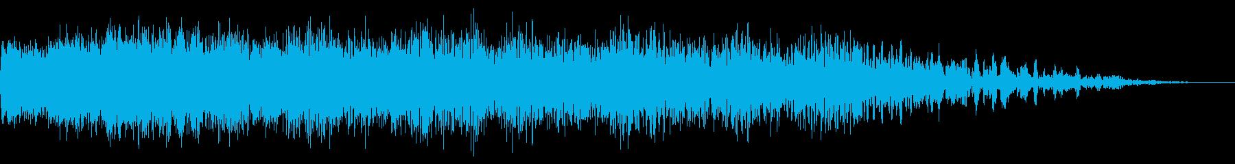 機械ダウン、壊れるA07の再生済みの波形
