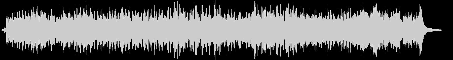 フェルトピアノによる優しい温かなピアノ曲の未再生の波形