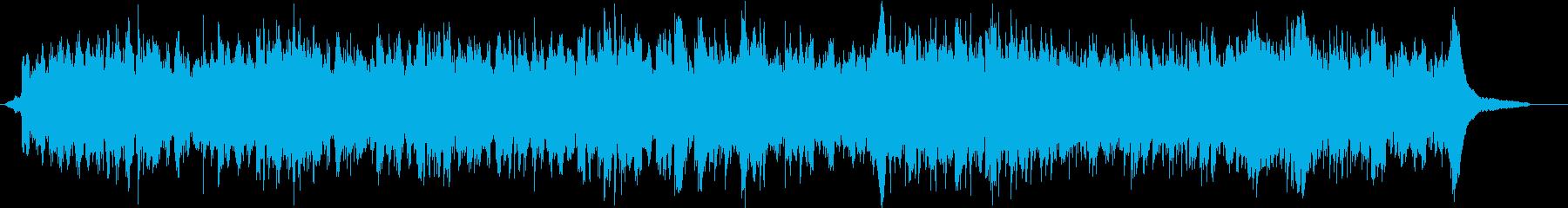 フェルトピアノによる優しい温かなピアノ曲の再生済みの波形