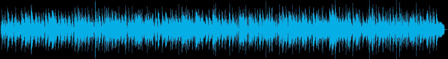 癒しのボサノバ、トロンボーンの再生済みの波形