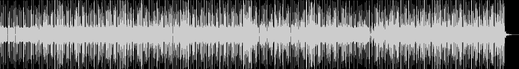 リラックスしたグルーヴのエレクトロニカの未再生の波形