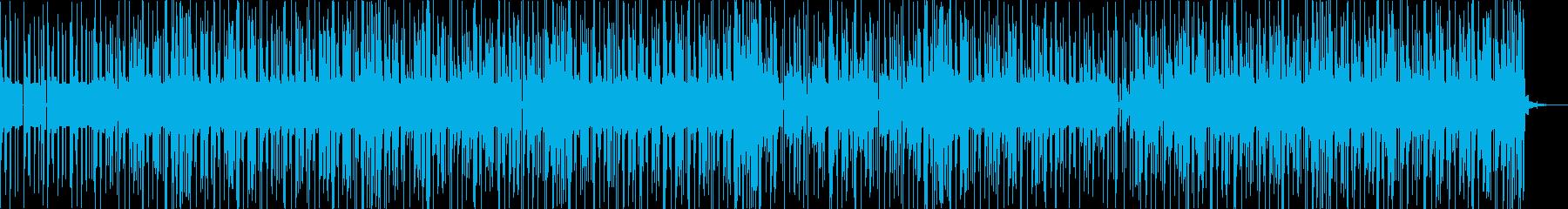 リラックスしたグルーヴのエレクトロニカの再生済みの波形