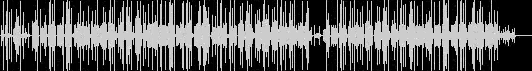 ローファイ、ヒップホップ、チルアウト♪の未再生の波形