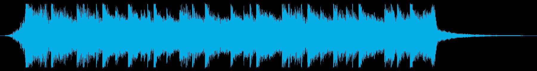切ないきらきらピアノジングル⑦ 壮大の再生済みの波形