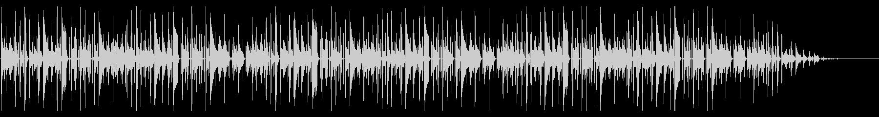 秋の童謡の定番「赤とんぼ」脱力系アレンジの未再生の波形