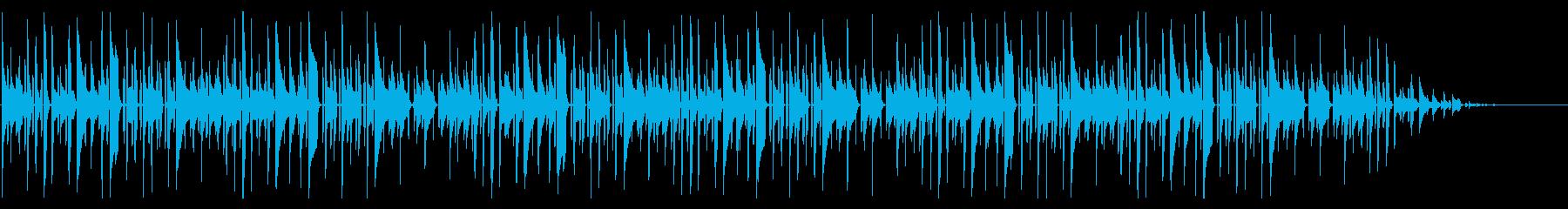 秋の童謡の定番「赤とんぼ」脱力系アレンジの再生済みの波形