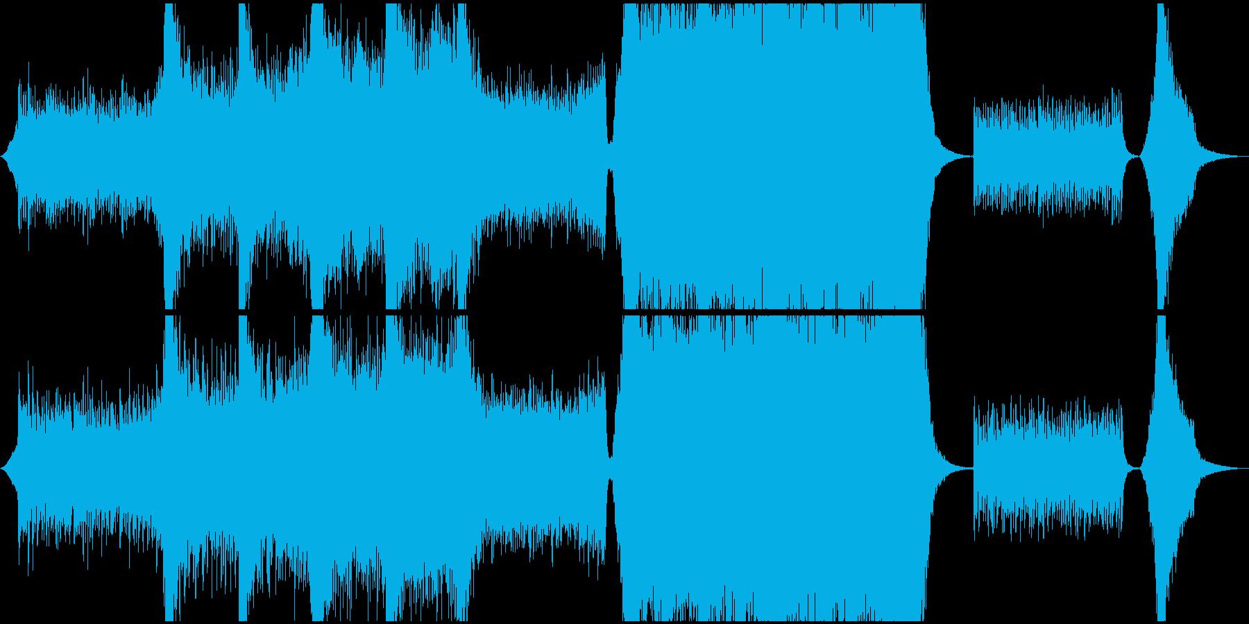 現代的 交響曲 エレクトロ コーポ...の再生済みの波形