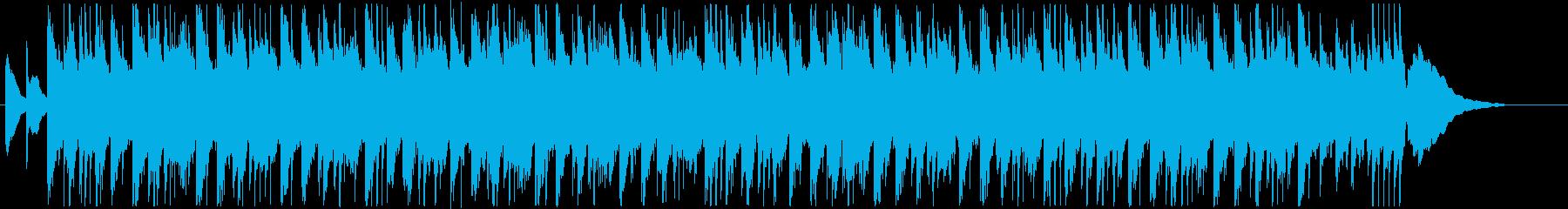 クールな生ピアノとシンセメロ VPやCMの再生済みの波形