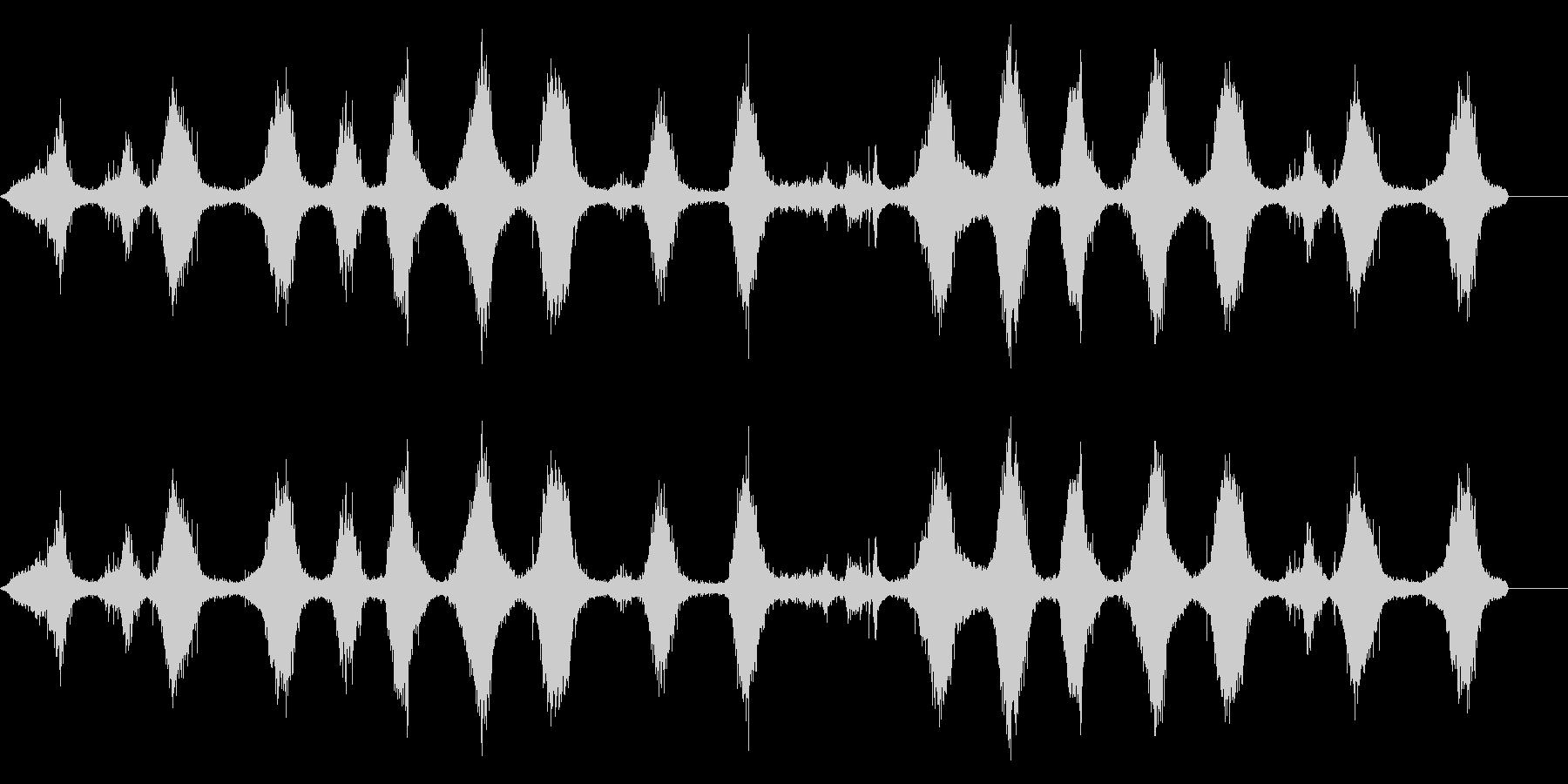 波-地球上のソフトロールの未再生の波形