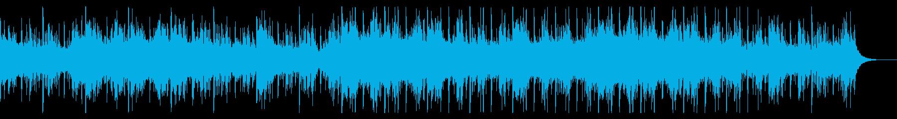 不可思議なシネマティックテクスチャの再生済みの波形