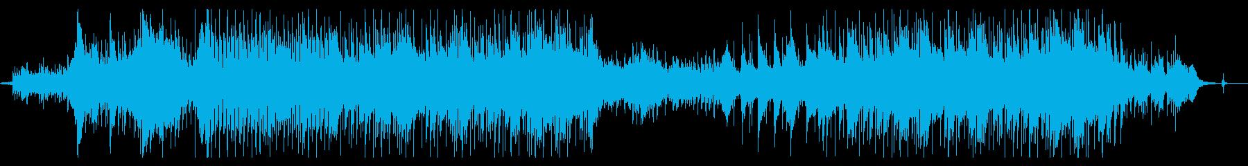 ハープ・コーラスが印象的なポップスの再生済みの波形