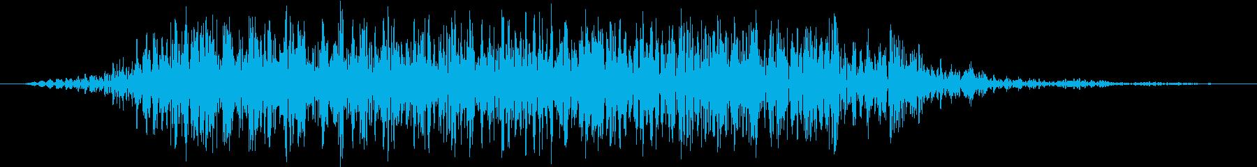 モンスター 悲鳴 47の再生済みの波形