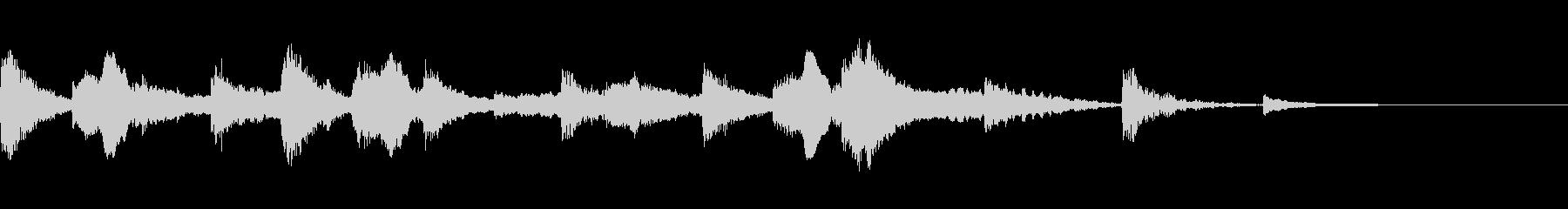 エスニックなアイキャッチの未再生の波形