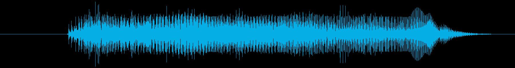 鳴き声 リトルガールクライアー03の再生済みの波形