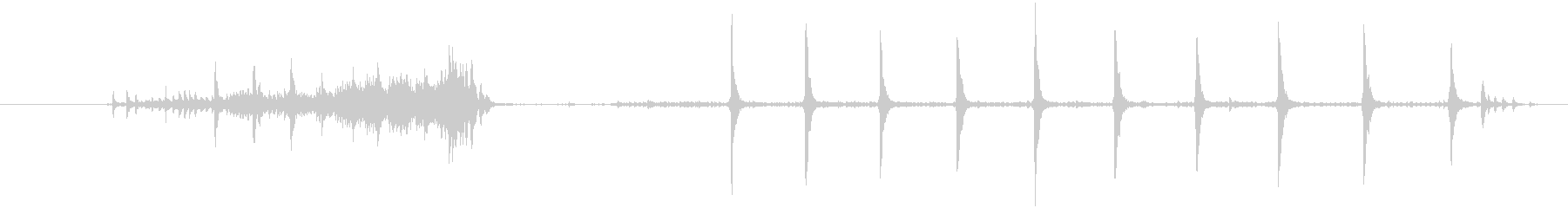 1921装飾電話:ダイヤル0ヴィン...の未再生の波形