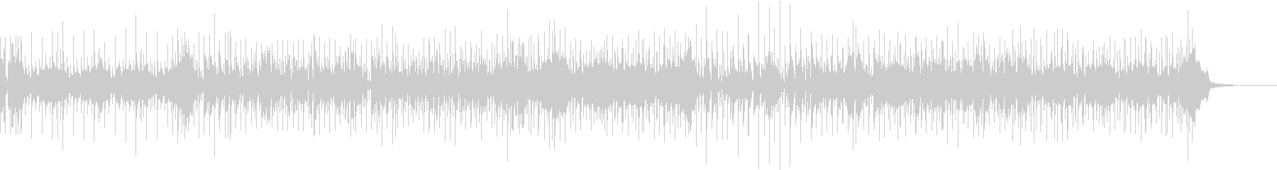 ブラスメロのファンクロックの未再生の波形