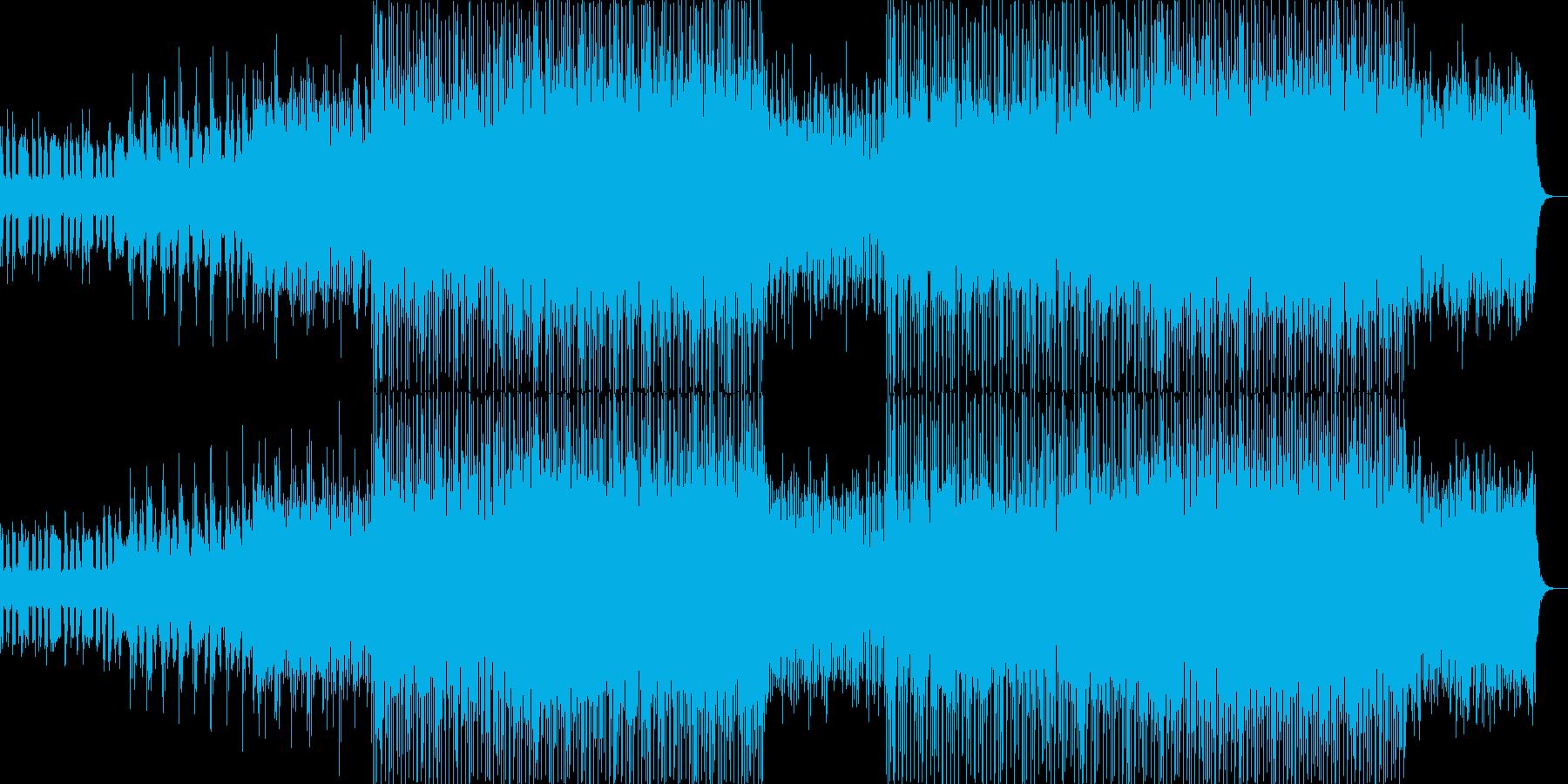 オープニング企業VPイベント-03の再生済みの波形