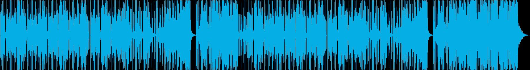 クールなテクノ 【vocal なし】の再生済みの波形