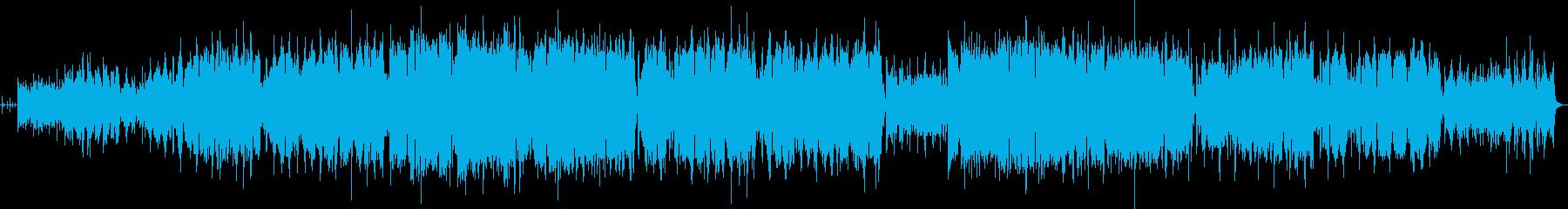 フラメンコギターのオリジナルフラメンコ曲の再生済みの波形