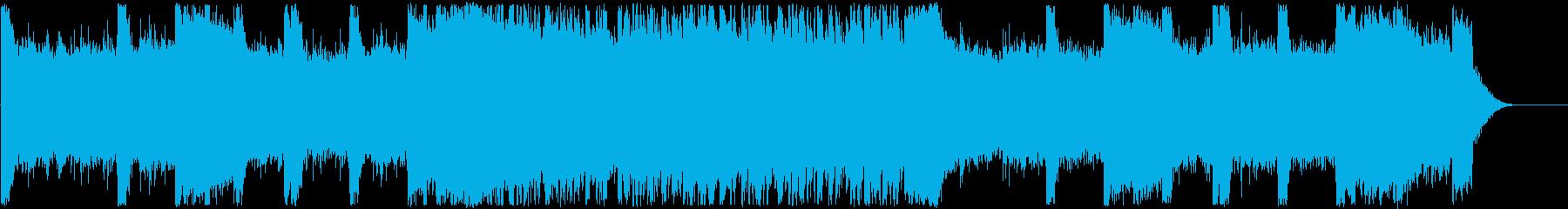 オープニング・ゲーム・かっこいいロックの再生済みの波形
