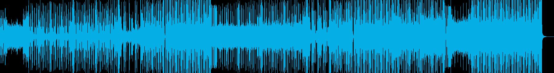 渋い雰囲気を放つヒップホップの再生済みの波形