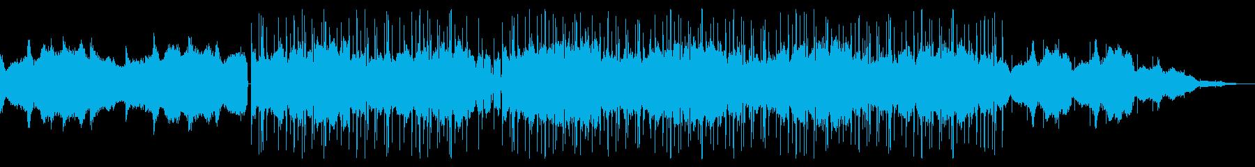 心の落ち着く優しいチル・ヒップホップの再生済みの波形