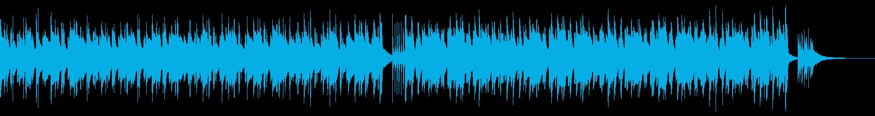 ウクレレと口笛の可愛くて楽しいポップスの再生済みの波形