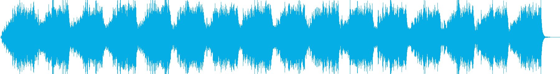 森の中をイメージしたヒーリングBGMの再生済みの波形