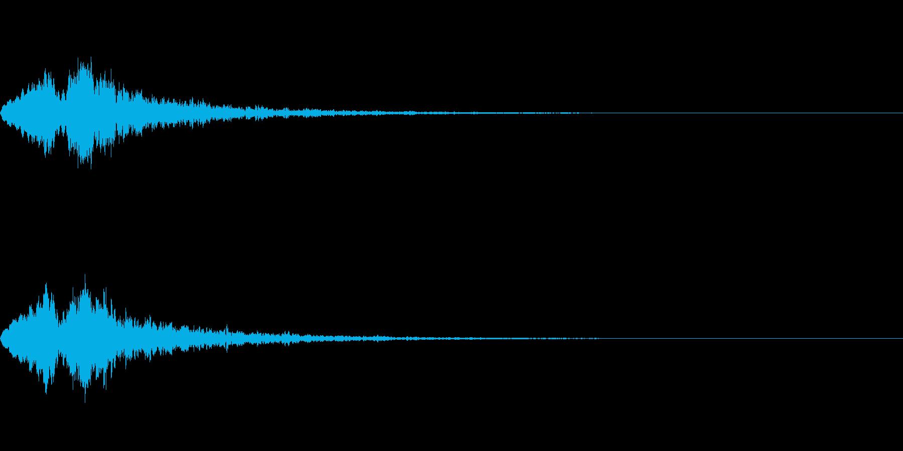 Vox 不気味な鳴き声 ホラーSE 2の再生済みの波形
