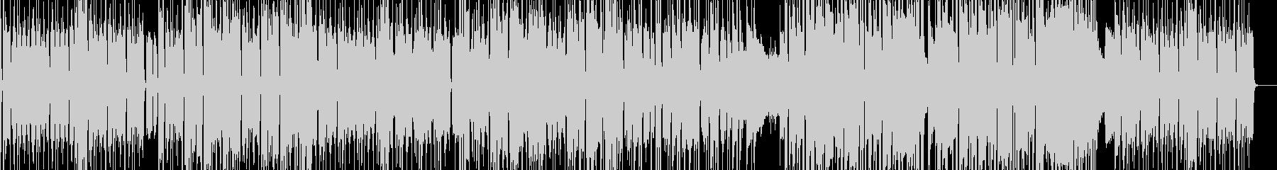 【生サックス】淡々とした感じのファンクの未再生の波形