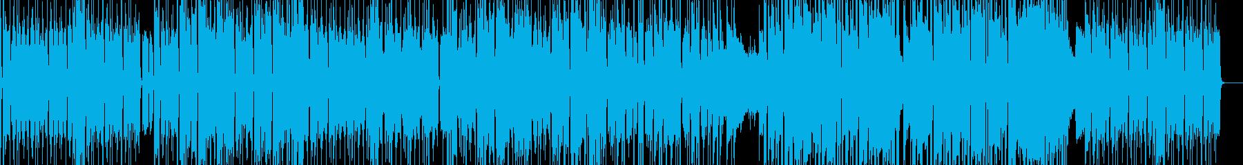 【生サックス】淡々とした感じのファンクの再生済みの波形