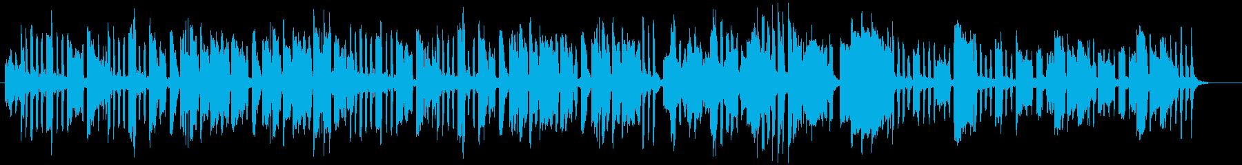 クラッシック風・リコーダーほのぼのの再生済みの波形