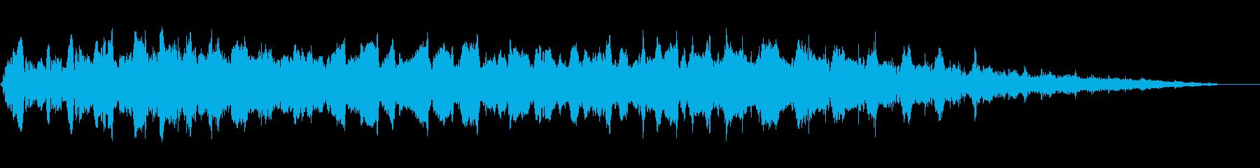 水中スイープアクセントの再生済みの波形