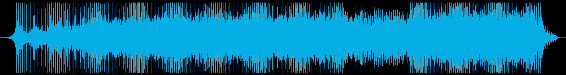 感動的で落ち着いたエレガントな企業音楽の再生済みの波形