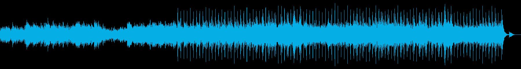 穏やか ピアノ フルートの再生済みの波形