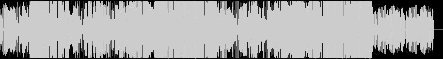可愛いサウンドのEDMの未再生の波形