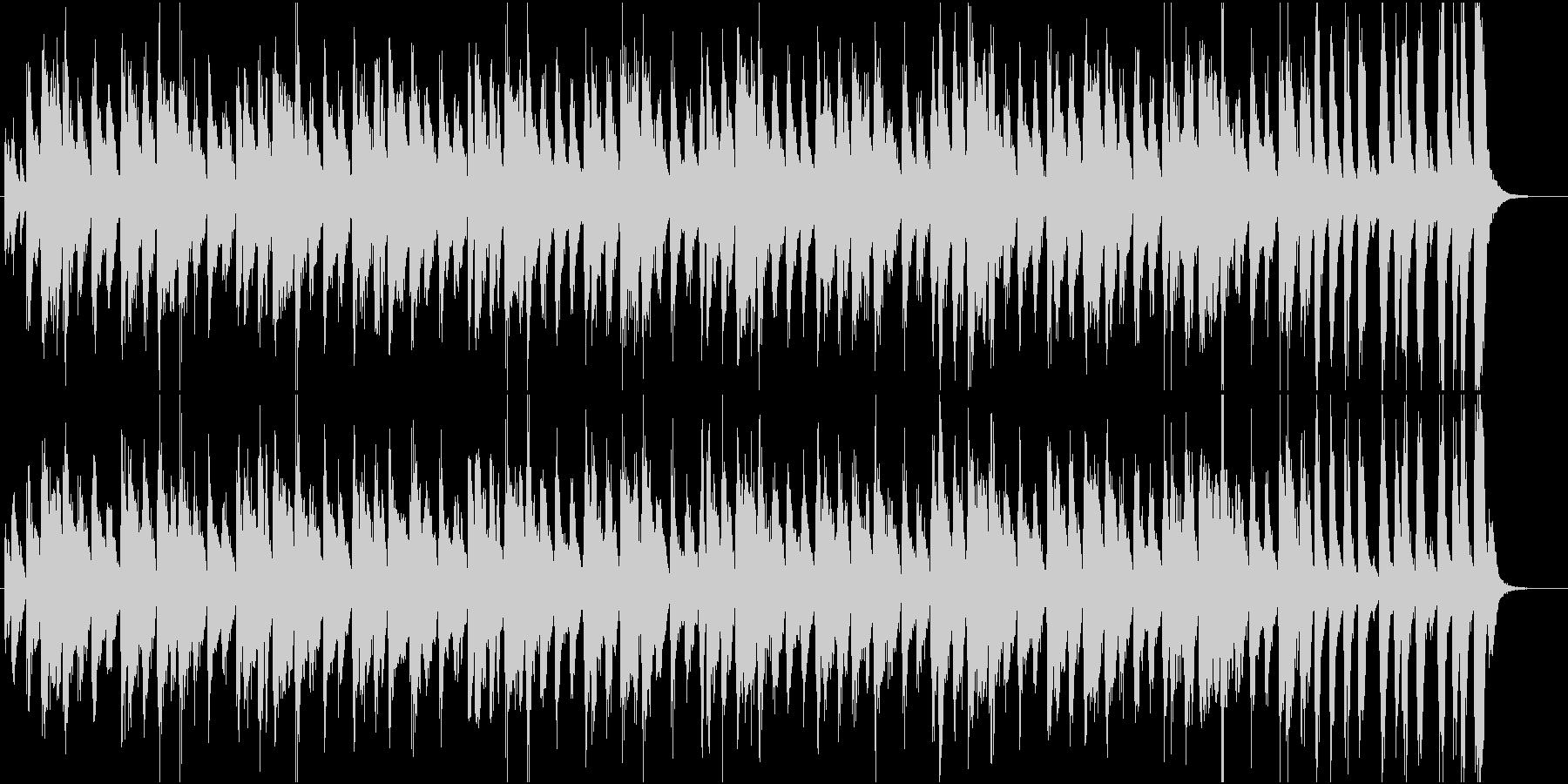 コミカルポップなブラスのサルサ調ジングルの未再生の波形