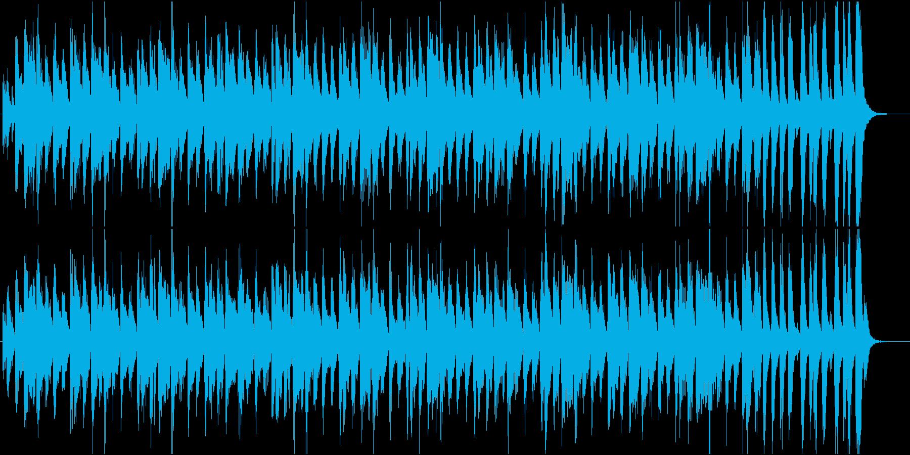 コミカルポップなブラスのサルサ調ジングルの再生済みの波形