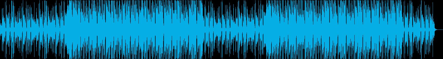 チルアウト洋楽CMアコギヒップホップaの再生済みの波形