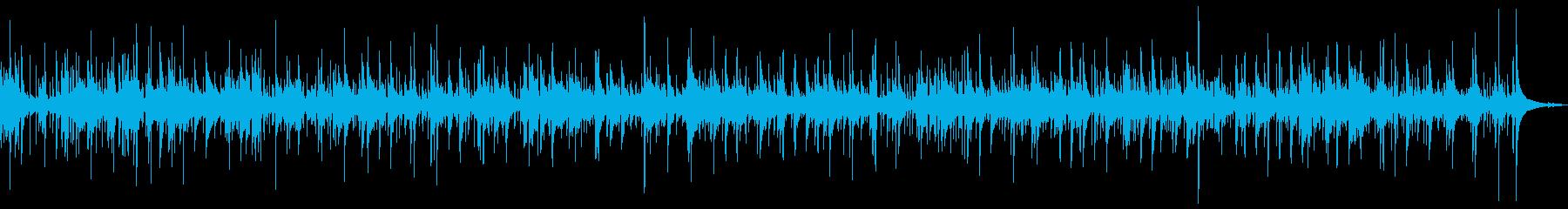 どこかの国の伝統音楽風の再生済みの波形