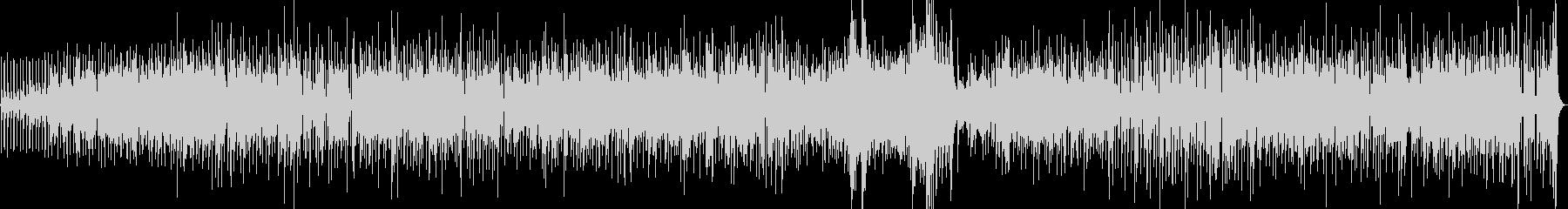 流れるようなジャズサンバのフィーリ...の未再生の波形