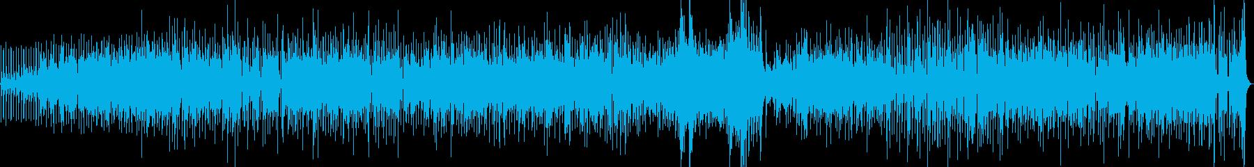 流れるようなジャズサンバのフィーリ...の再生済みの波形