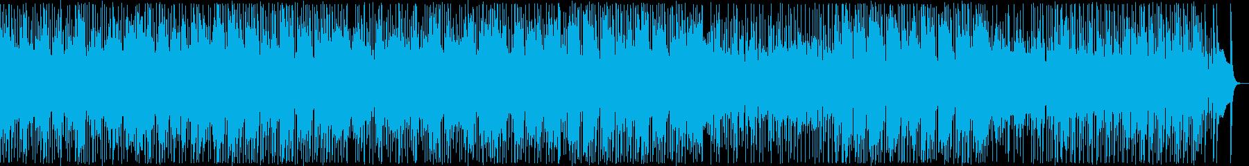 懐かしい雰囲気の感動バラード2の再生済みの波形