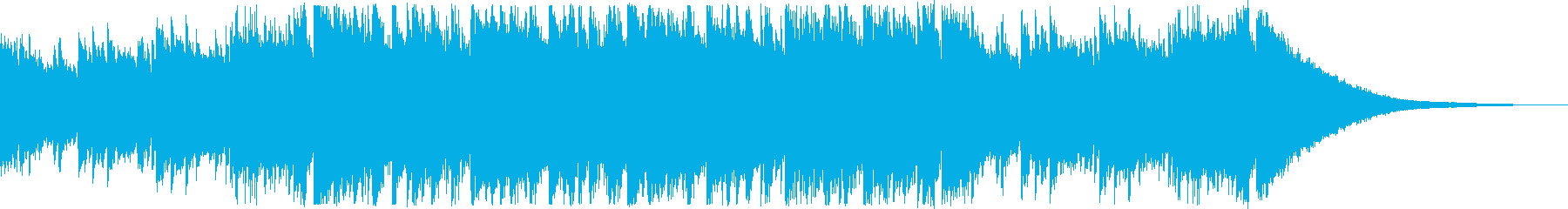 CM・エキサイティングな和風曲の再生済みの波形